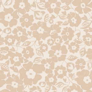 Ditsy Floral - Capuccino