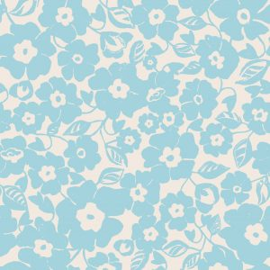 Ditsy Floral - Wedgewood